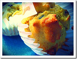 chickpea museli muffins