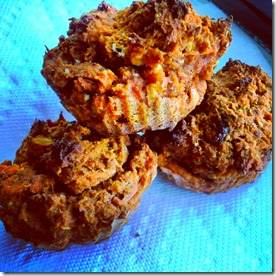 carrot apple pie muffins