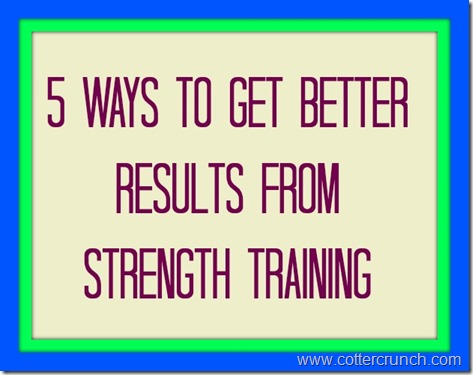5 ways strength