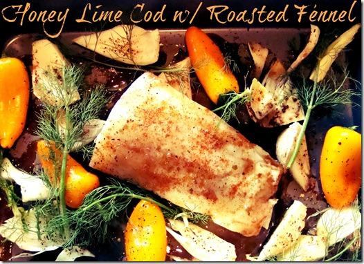 honey lime cod