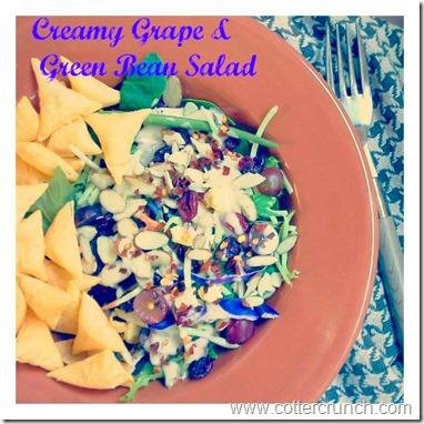 grape and green bean ceasar