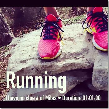 trail run no time