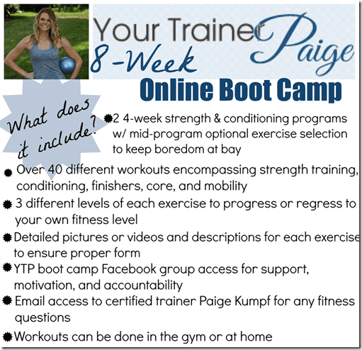paiges bootcamp