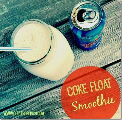 coke float protein smoothie