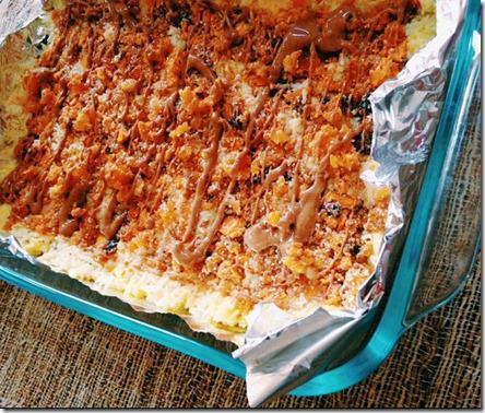 mango vanilla almond rice cakes 3