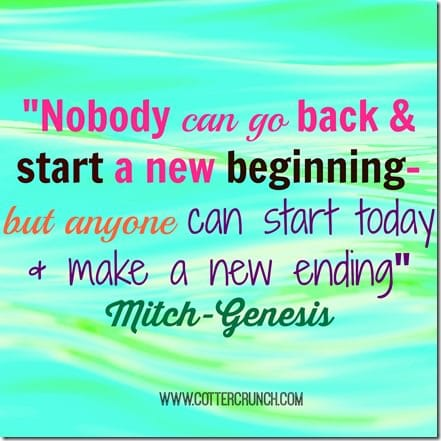 New beginnings quote