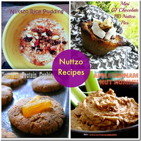Nuttzo Recipe Round up