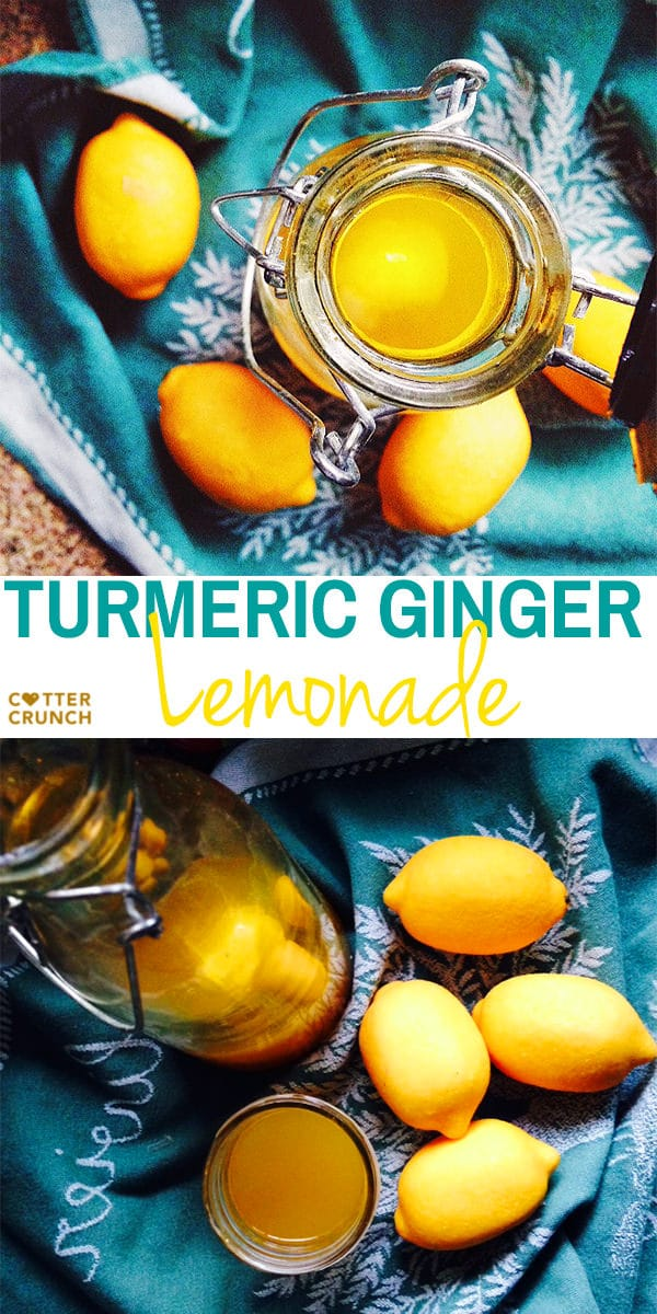 turmeric ginger lemonade