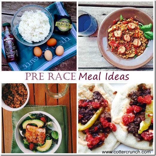 Gluten Free Pre Race Meals