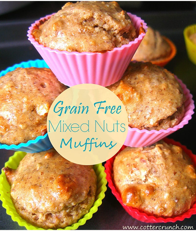 Grain Free Mixed Muffins and Back to School Breakfast Club ideas! https://www.cottercrunch.com/