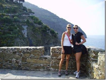 pre-hike in Cinque Terre