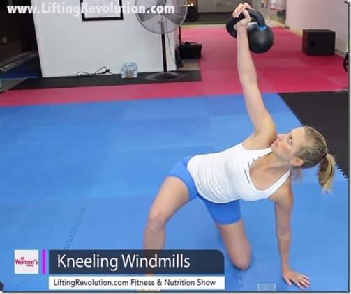 kneeling windmills