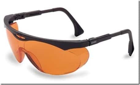 orange glasses for night reading
