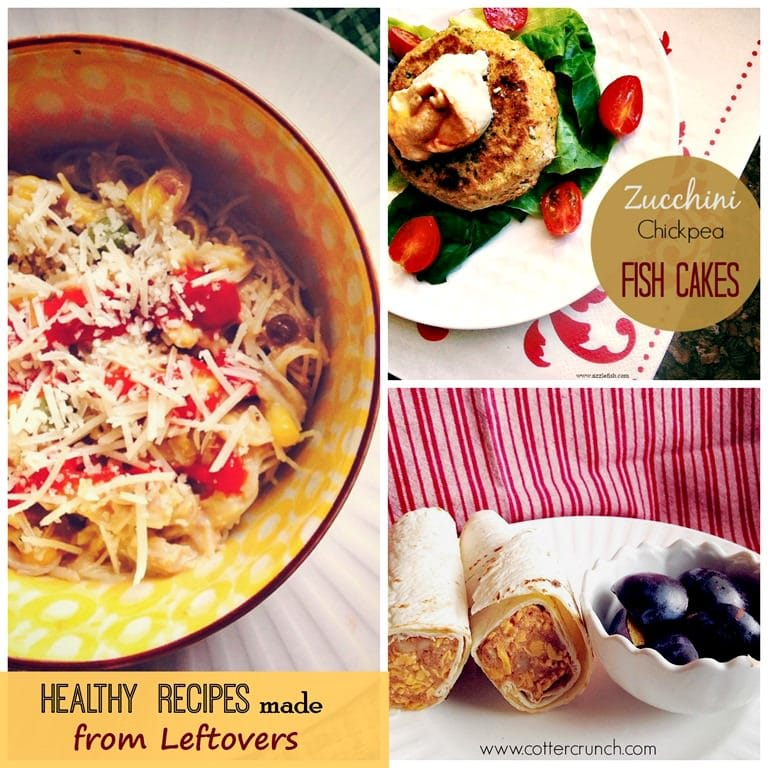 3 Quick and Healthy Gluten Free Recipes Made from Leftovers