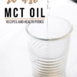3 ways to use MCT oil