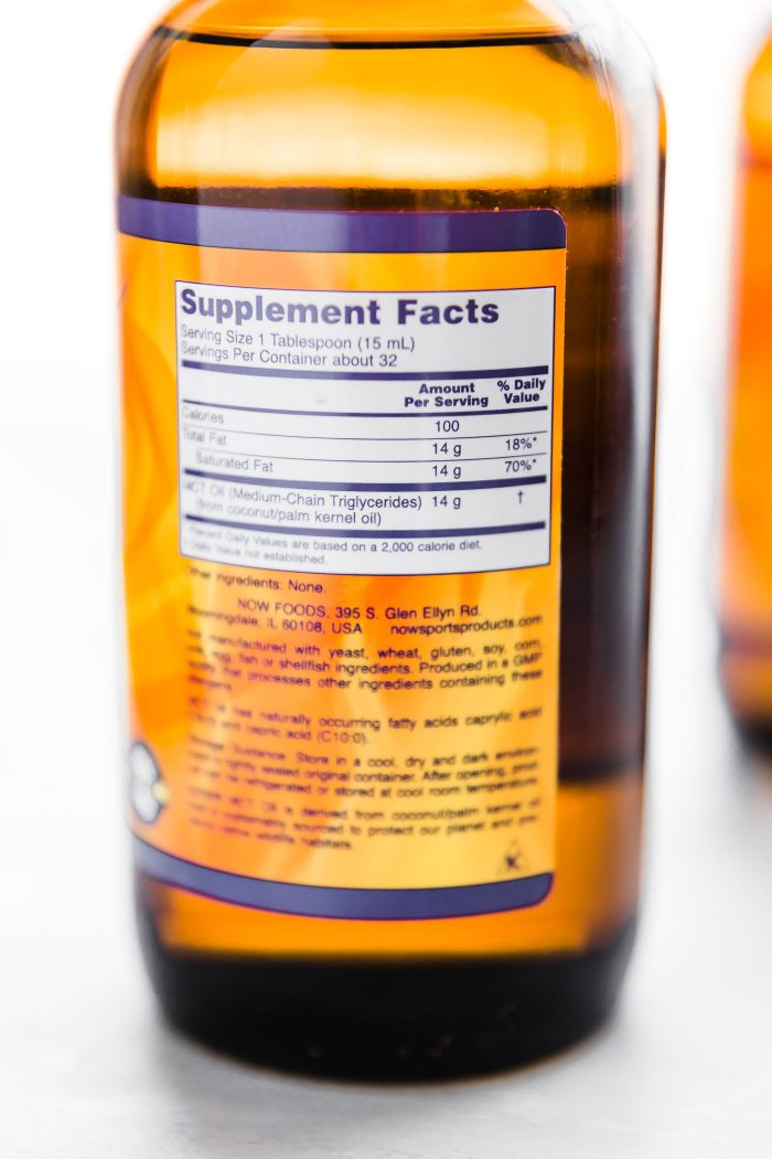 MCT oil by Now Foods