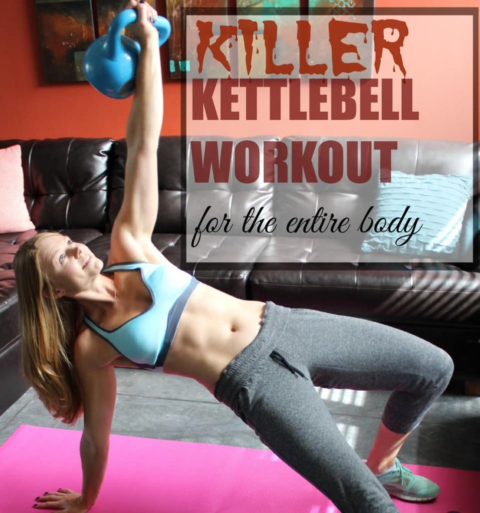 killer kettlebell workout trainer paige
