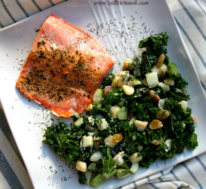 Flavor up your salmon with this Rosemary Salmon fillet, lightly sweetened with Orange Zest! It's the perfect meal for Spring or Fall. Great flavor combo, healthy, and paleo friendly. Ready in 10 minutes!