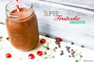 Dairy Free SUPER Fruit Chocolate Smoothie {Paleo}