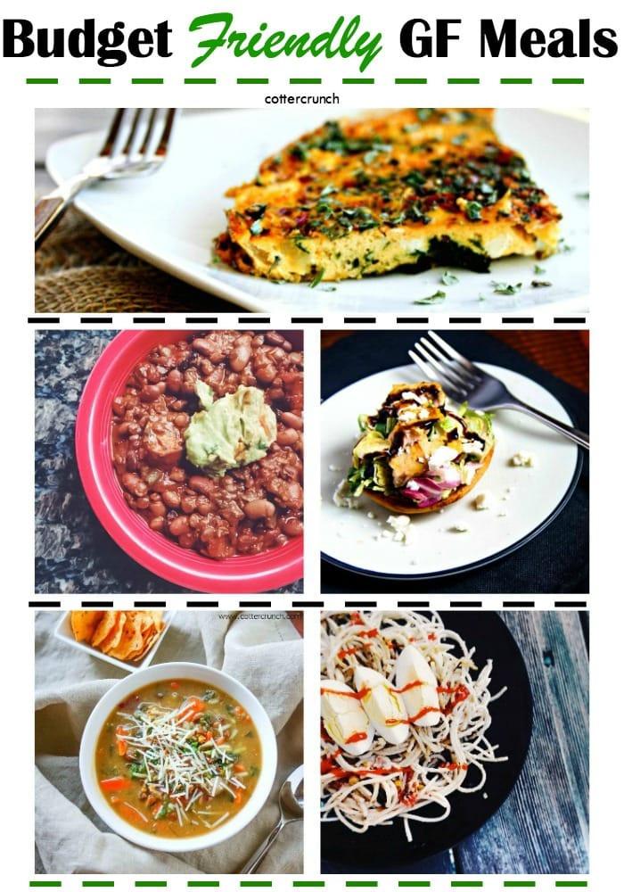 Budget Friendly Gluten Free Meals - cottercrunch.com