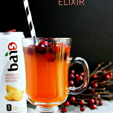Cranberry Pineapple Gut Healthy Elixir with Tumeric