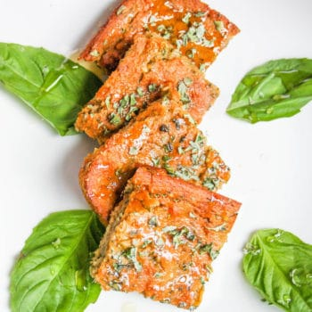 #gluten free HONEY BASIL BUTTERMILK SQUARES. great for snacks, with soup, or breakfast! @cottercrunch #baking