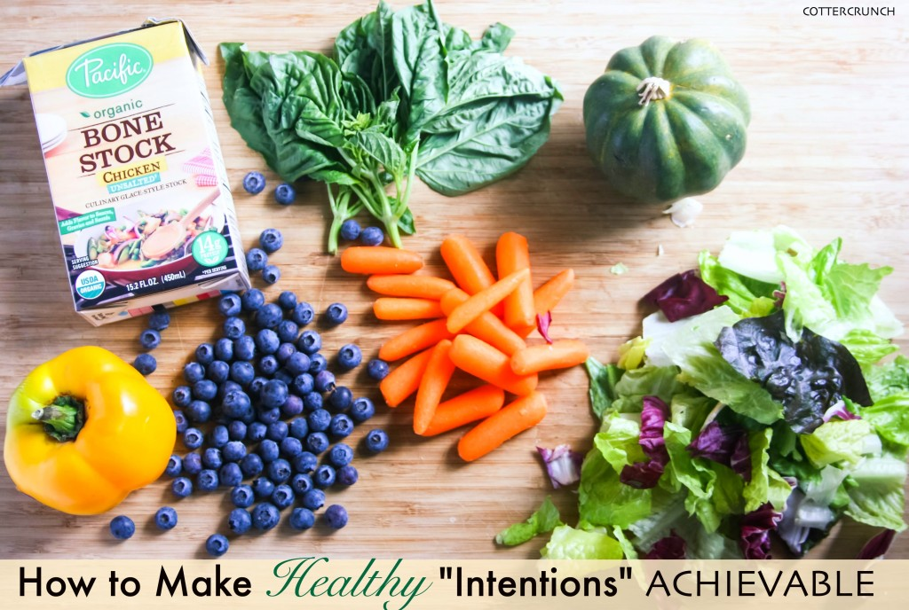 how to ditch resolutions and make healthy intentions achievable, flavorful, and FUN