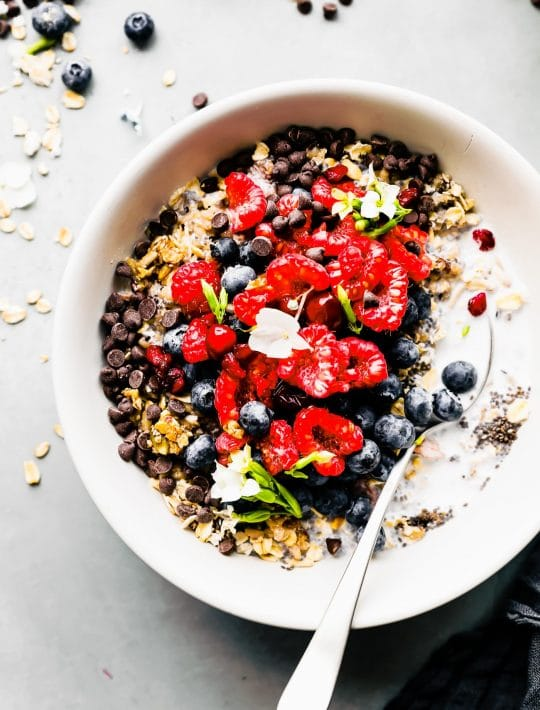 gluten free breakfast power bowl