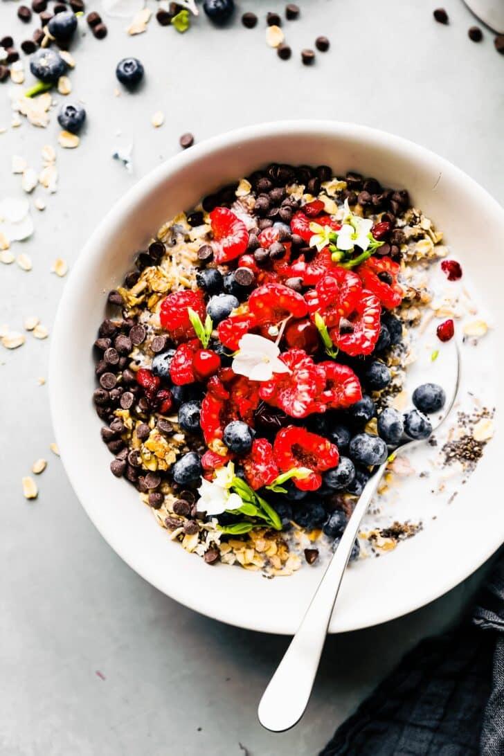 gluten free breakfast power bowl