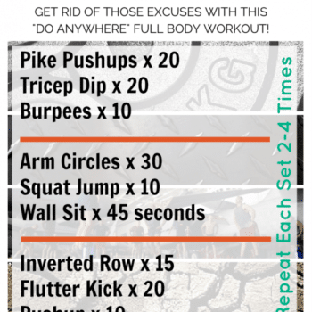 SWEATroad travel workout! No gym required. All you need is a space to workout! #travelworkout #fitness
