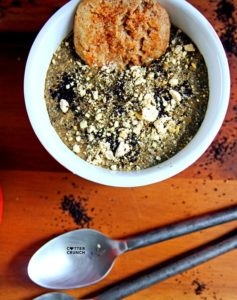 Vegan Caramel Coffee Chia Pudding with Hemp Protein