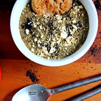 Hemp protein gives a big health boost to your breakfast in this Vegan Caramel Coffee Protein Chia Pudding! It's nutrient denseand delicious!