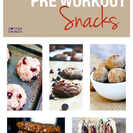 Portable gluten free pre workout snacks are healthy quick snacks that are easy to digest, and you can eat them on the go. Great fuel for your next workout!