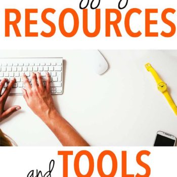Blogging tools and resources are something every type of blogger needs to take their blog up a notch. These resources will help with motivation and organization, too!