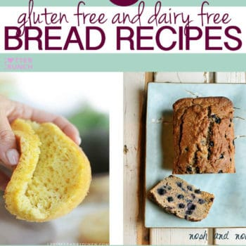 Here's a great round up of 6 healthy gluten free and dairy free bread recipes, bagels, and pancakes!