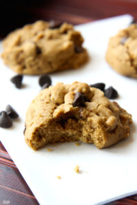 Best Ever Maple Chocolate Chip Cookies Recipe {Gluten Free Dairy Free}
