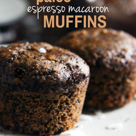 A Light Dessert For Coffee Lovers! Paleo Espresso Macaroon Muffins . @cottercrunch - These paleo muffins will become a favorite treat!