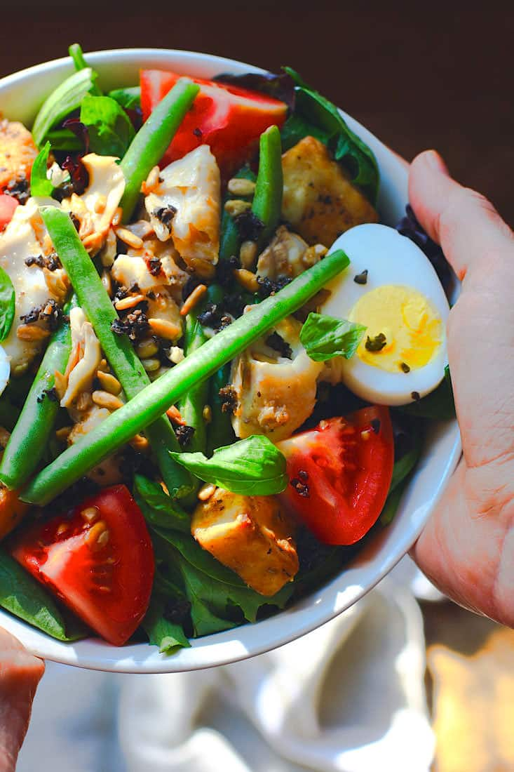 Salade Niçoise is one of the most refreshing summer salads to make! This Paleo version is full of flavor, healthy fats and nutrients, plus it's ready in 30 minutes. www.cottercrunch.com