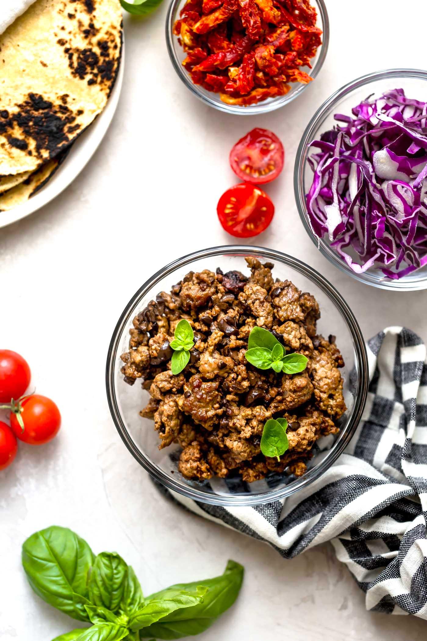 greek taco ingredients