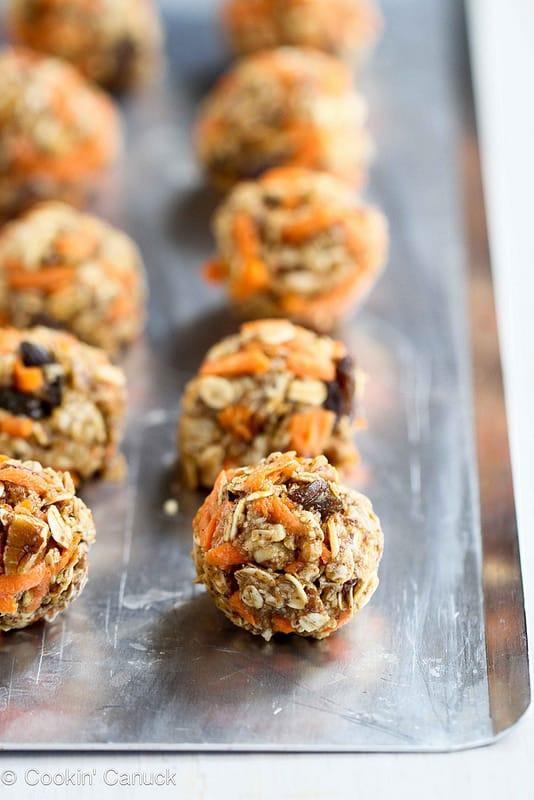 http://www.cookincanuck.com/2013/03/no-bake-carrot-cake-granola-bites-recipe/