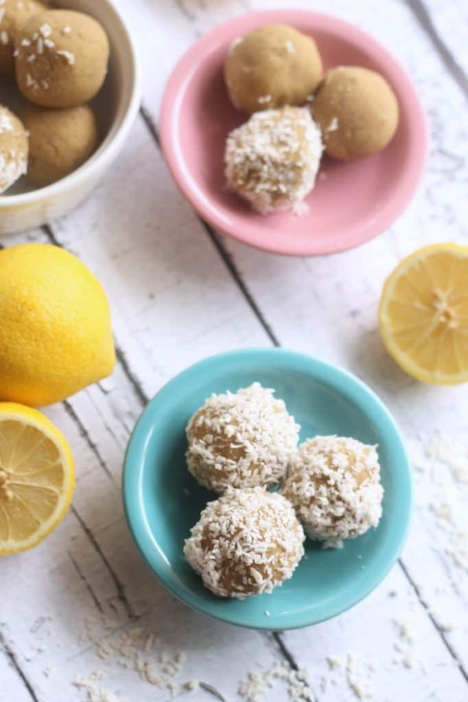 lemon coconut vegan/paleo balls @thehummusapien
