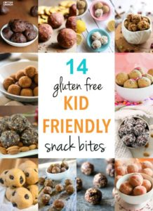 14 Kid Friendly Gluten Free Snack Bites! {Protein and Energy}