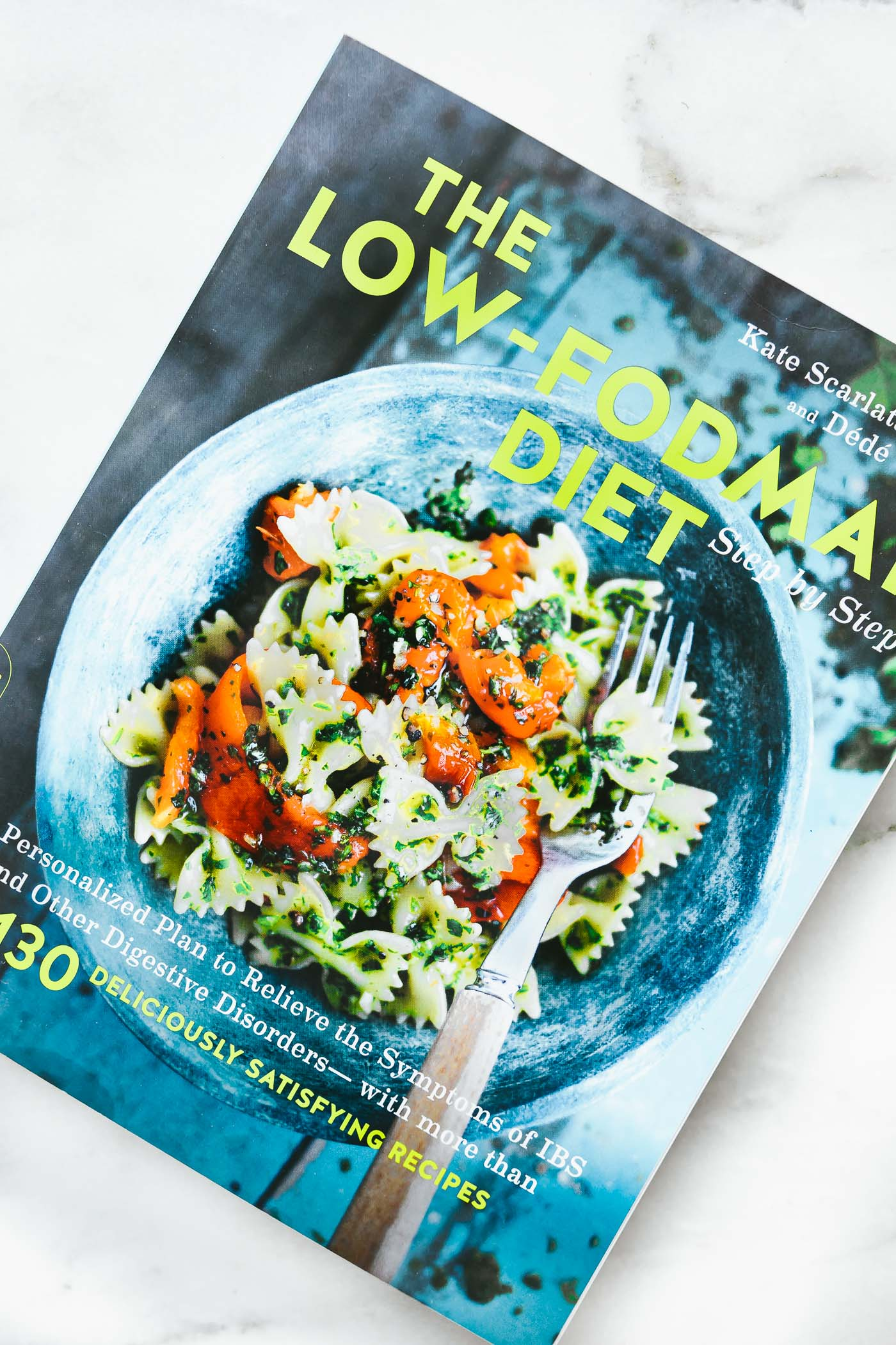 The Low-FODMAP Diet Cookbook cover