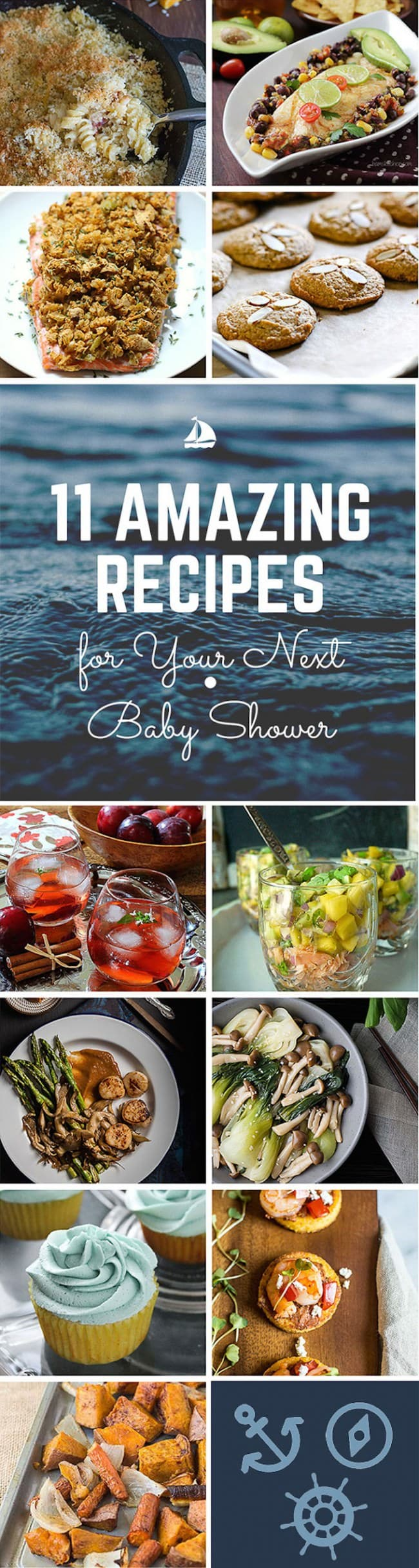 11 amazing party recipes to try for your next event, baby shower, wedding shower, or celebration! Recipes that are full of flavor, fun, simple to make, and mouth watering delicious! #party #recipes #DIY