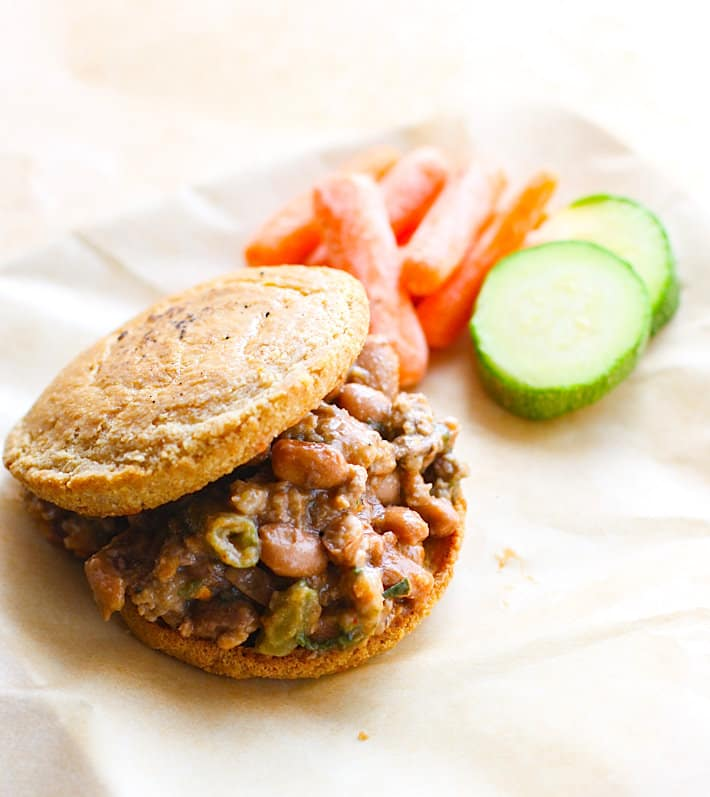 slow cooker sloppy joe on mikey's paleo muffins #cottercrunch#paleo @mikeysmuffins