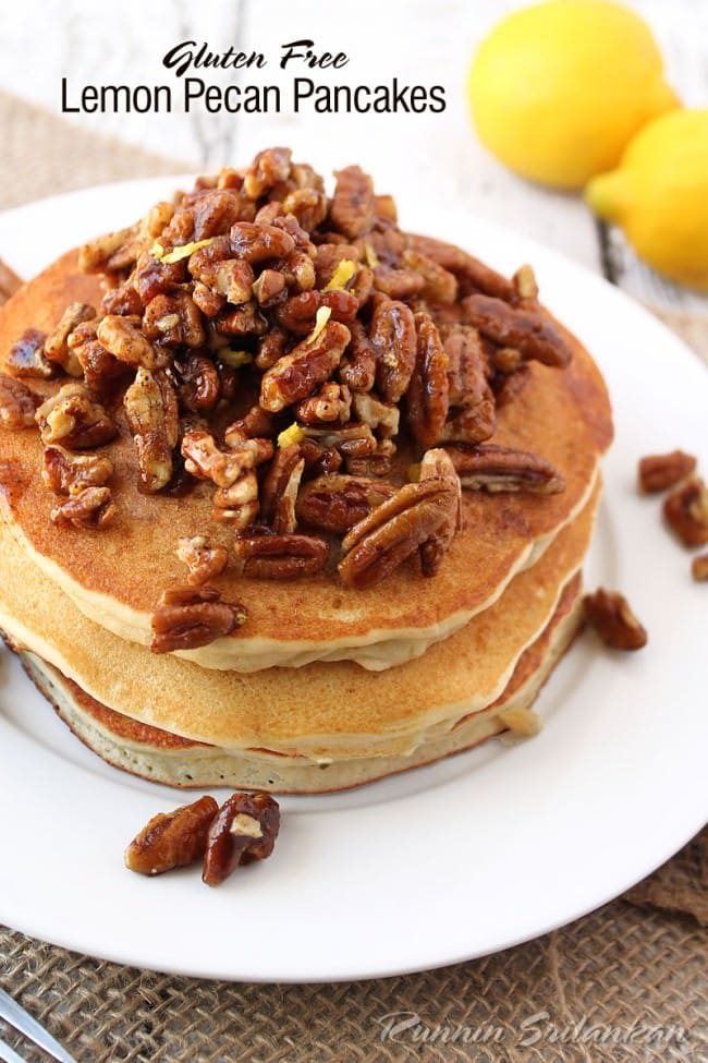 Lemon-Pecan-Pancakes-With-Silk-Soymilk-@RunninSrilankan