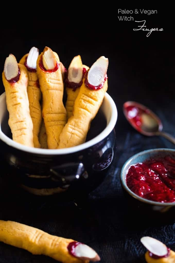 Paleo and Vegan Witch Fingers from Food Faith Fitness