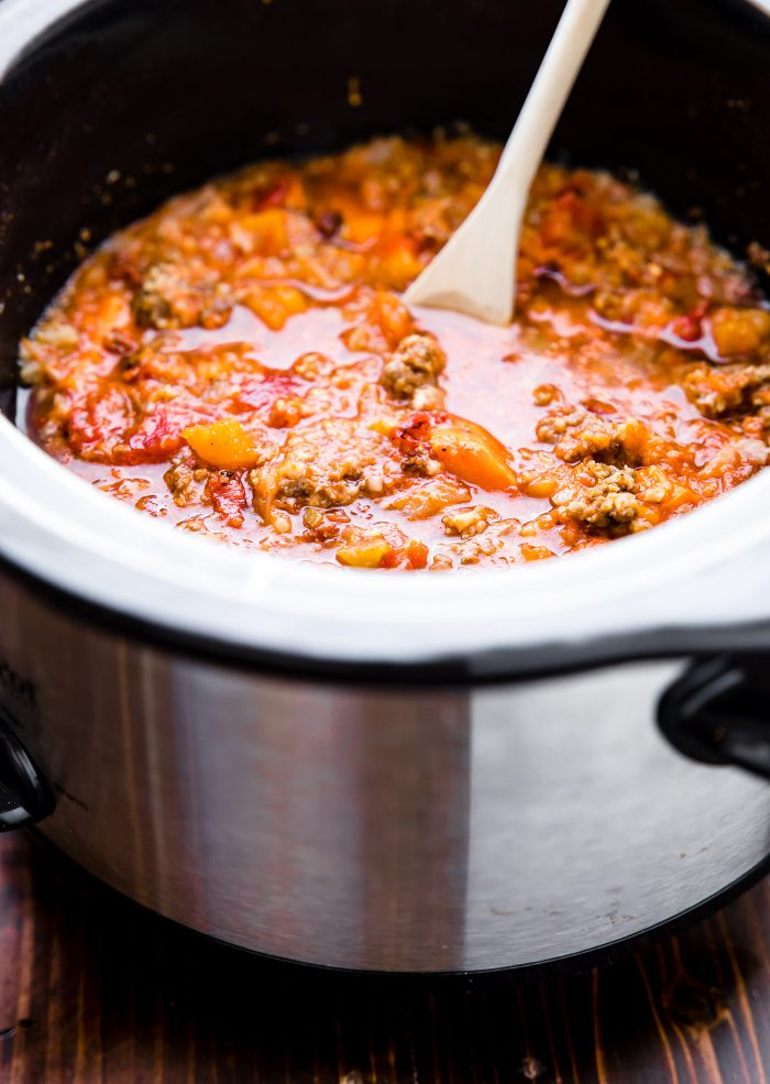 crock pot chipotle chili