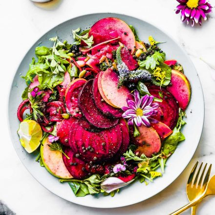 MARINATED BEET AND APPLE SALAD
