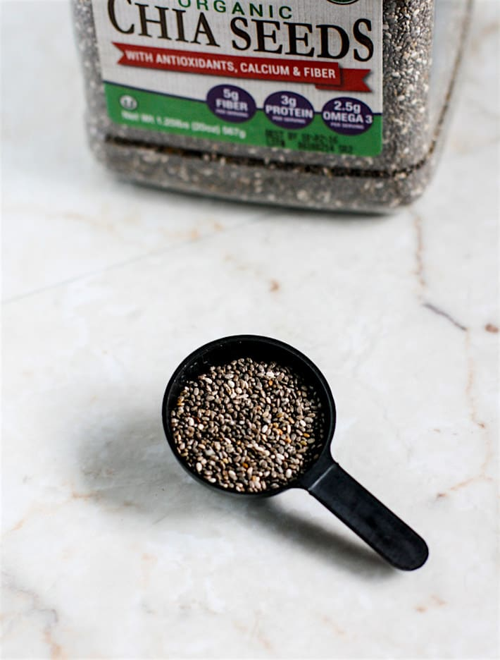 Better Body Foods chia seeds (organic)